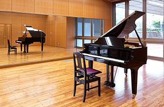 ピアノを置いた状態